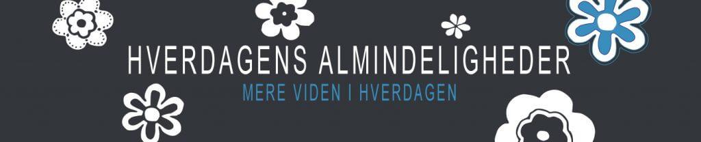HVERDAGENS ALMINDELIGHEDER